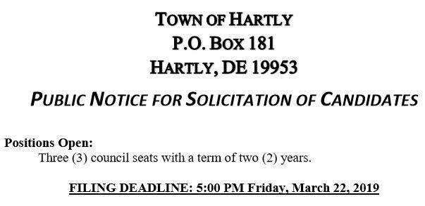 Hartly Town Limits